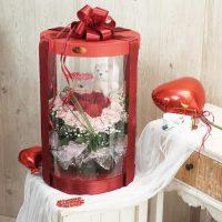 flower box tabung